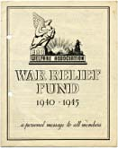 War Relief 1940-45 pamphlet
